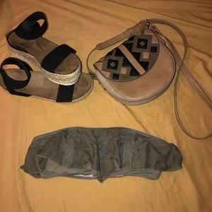 Army green Victoria's Secret Strapless Bathingsuit